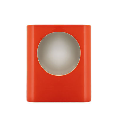 Lighting - Table Lamps - Signal Large Table lamp - / Ceramic - Hand-made / H 35 cm by raawii - Tangerine orange - Ceramic