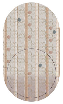 Déco - Tapis - Tapis Swell - Sunstone / 200 x 350 cm - Moooi Carpets - Sunstone - Polyamide