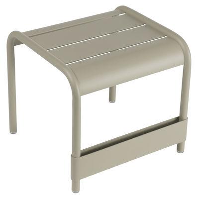 Life Style - Tavolino d'appoggio Luxembourg - L 42 cm di Fermob - Muscade - Alluminio laccato