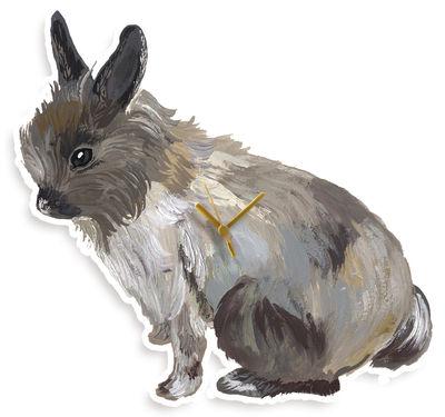 Dekoration - Spaßig und ausgefallen - Lapin Wanduhr - Domestic - Hase - Forex imprimé