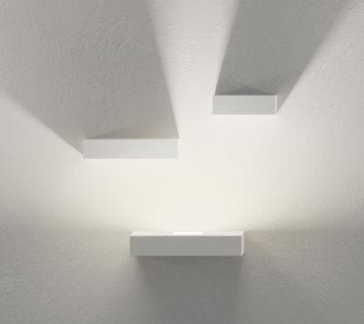 Illuminazione - Lampade da parete - Applique Set - LED / Set 3 moduli di Vibia - Bianco - metallo laccato, policarbonato
