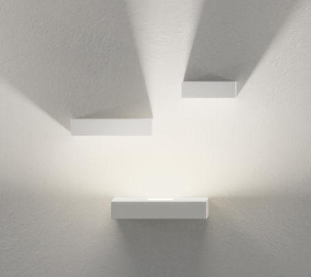Luminaire - Appliques - Applique Set LED / Set 3 modules - Vibia - Blanc - Métal laqué, Polycarbonate