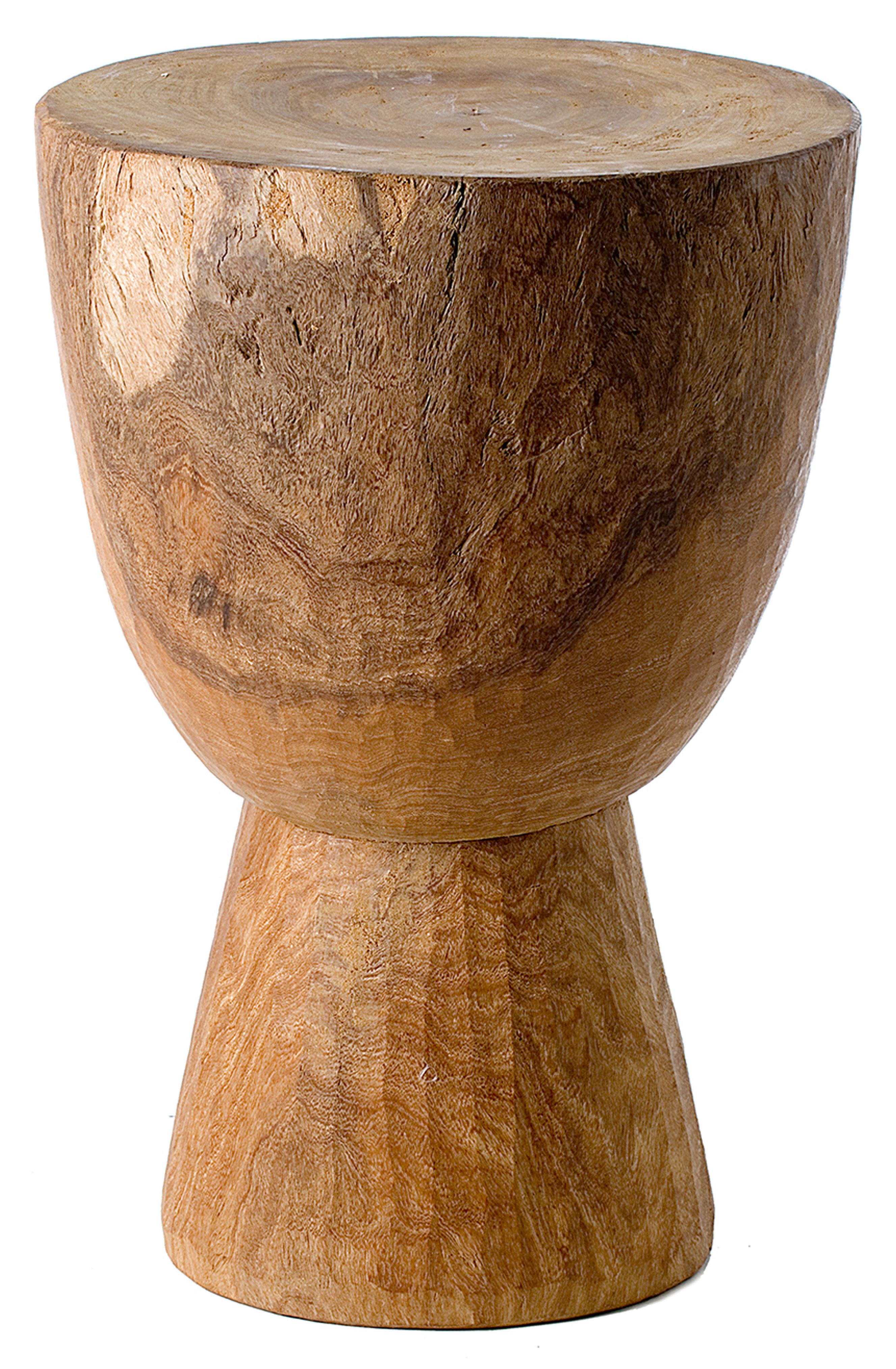 Möbel - Couchtische - Stool Tam Tam Hocker Hocker/Tisch - Pols Potten - Holz - Holz