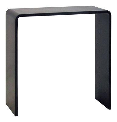 Möbel - Konsole - Solitaire Konsole - Zeus - Stahl: schwarz - H 100 cm - phosphatierter Stahl