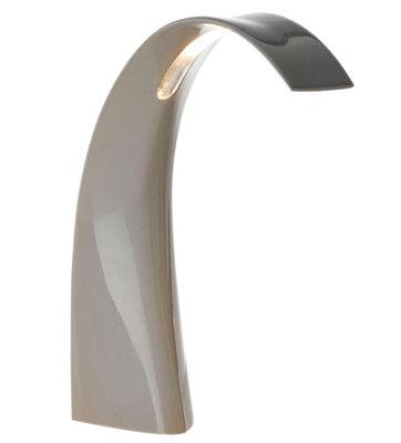 Illuminazione - Lampade da tavolo - Lampada da tavolo Taj Mini LED - Lampada da tavolo di Kartell - Grigio - PMMA