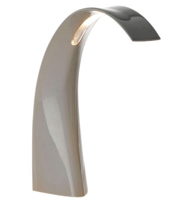 Lampe de table Taj Mini LED - Kartell gris en matière plastique