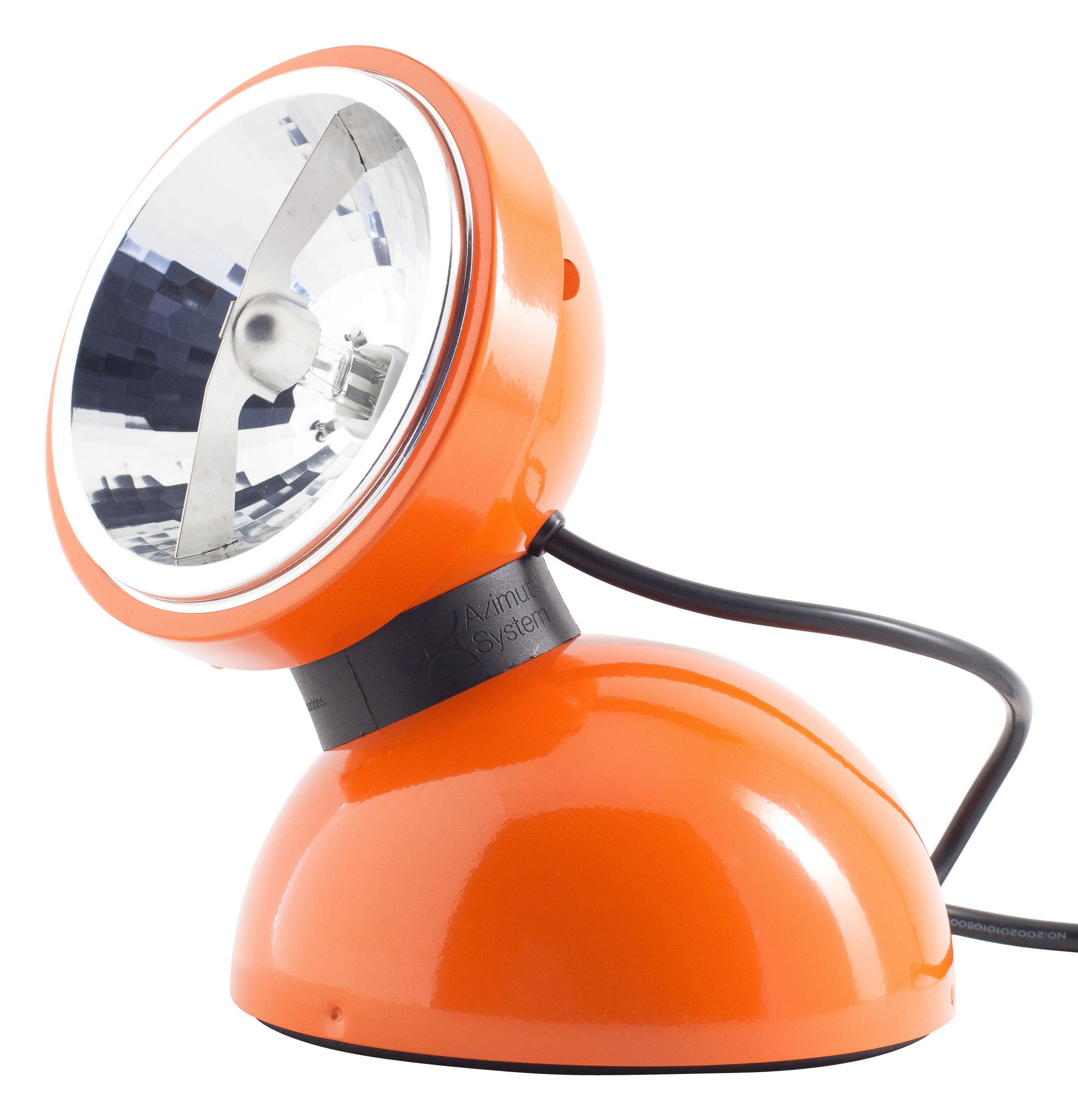 Lampe De Table Touch 360 Azimut Industries Orange L 200 X H