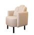 Martine Padded armchair - / Fabric by Maison Sarah Lavoine