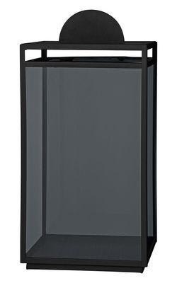 Photophore Turris / Lanterne - H 47,5 cm - AYTM noir en métal/verre