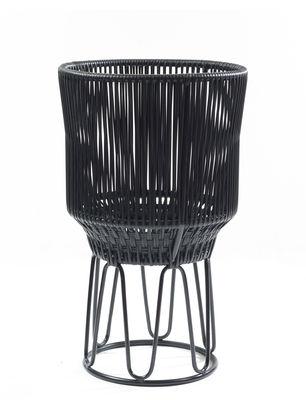 Image of Portavaso Circo 2 - / Ø 40 x H 68 cm di ames - Nero - Materiale plastico