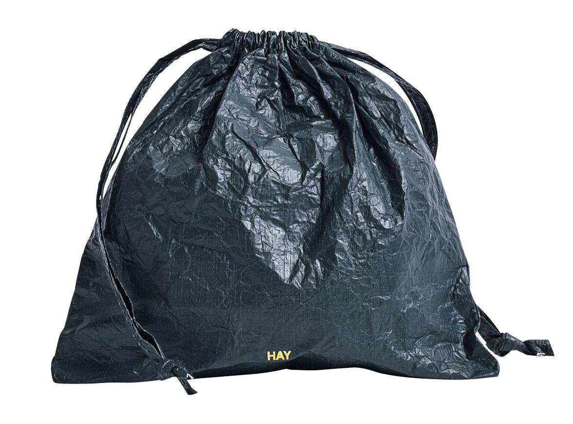 Accessories - Bags, Purses & Luggage - Packing  Essentials Purse - Medium Ø 20 cm / Tyvek recyclé by Hay - Dark green - Tyvek recyclé