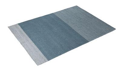 Decoration - Rugs - Varjo Rug - 170 x 240 cm by Muuto - Blue - Virgin wool