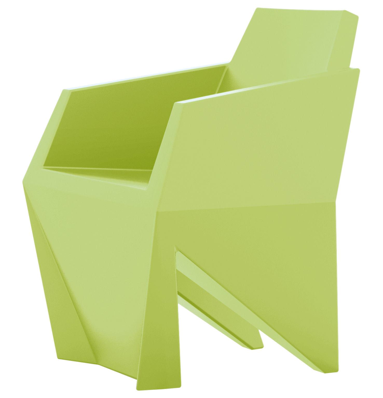 Möbel - Stühle  - Gemma Sessel - B-LINE - Pastellgrün - rotationsgeformtes Polyäthylen