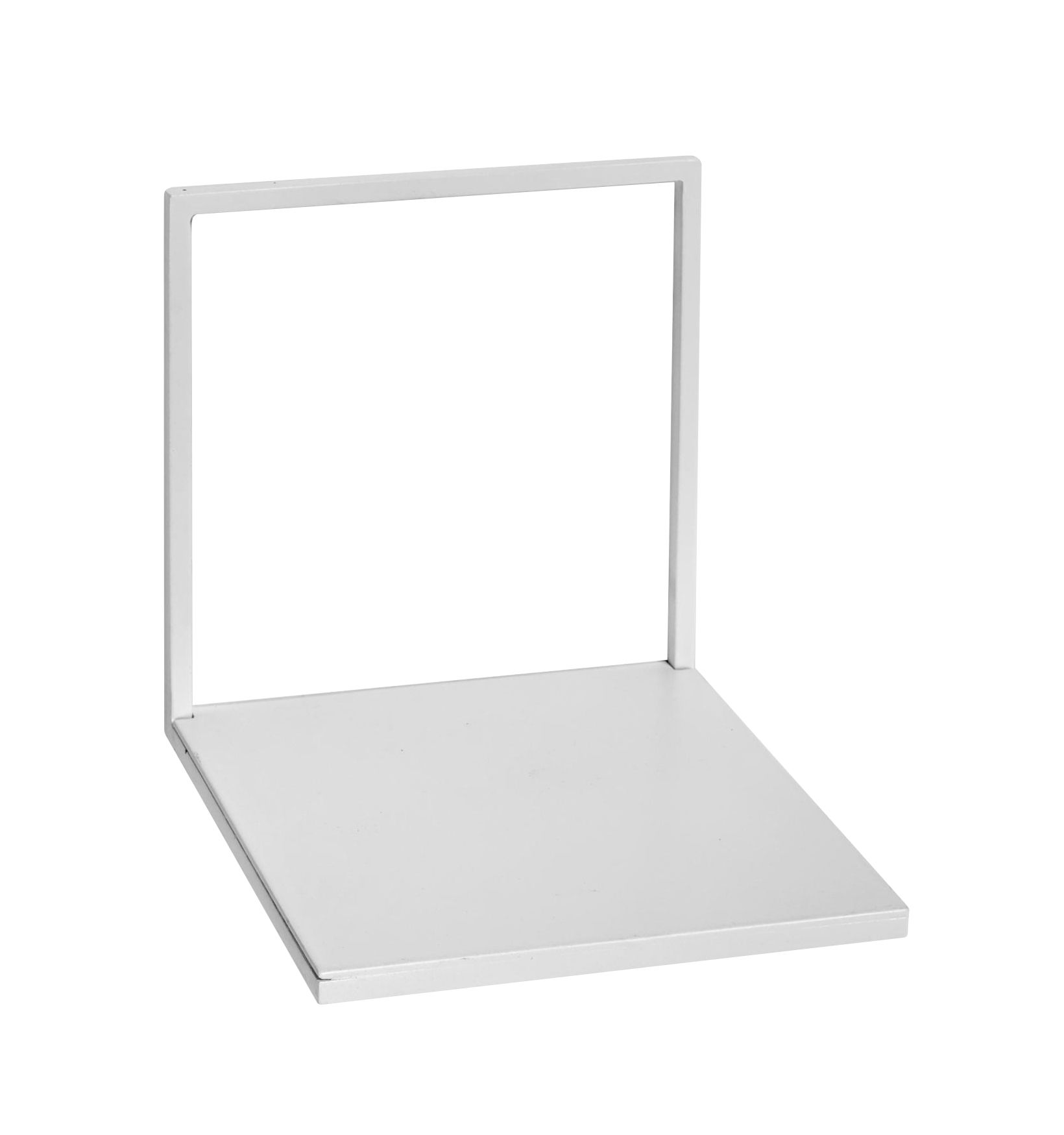 Furniture - Bookcases & Bookshelves - Small Shelf - / L 15 cm - Metal by Serax - White - Lacquered metal