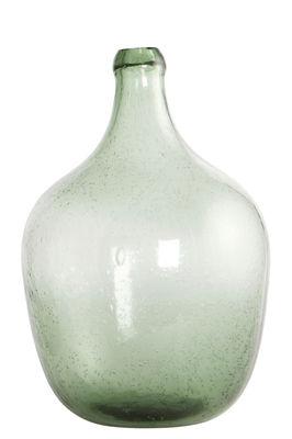 Déco - Vases - Soliflore Bottle / Ø 19,5 x H 28,5 cm - House Doctor - Vert clair - Verre soufflé bouche