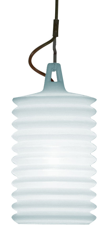 Lighting - Table Lamps - Lampion Table lamp - Lamp that can be used as a suspension  - Outdoor use by Rotaliana - Light blue - Silicone