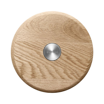 Tableware - Table Mats & Trivets - Nordic Kitchen Tablemat - / Magnetic by Eva Solo - Varnished oak - Oak, Stainless steel