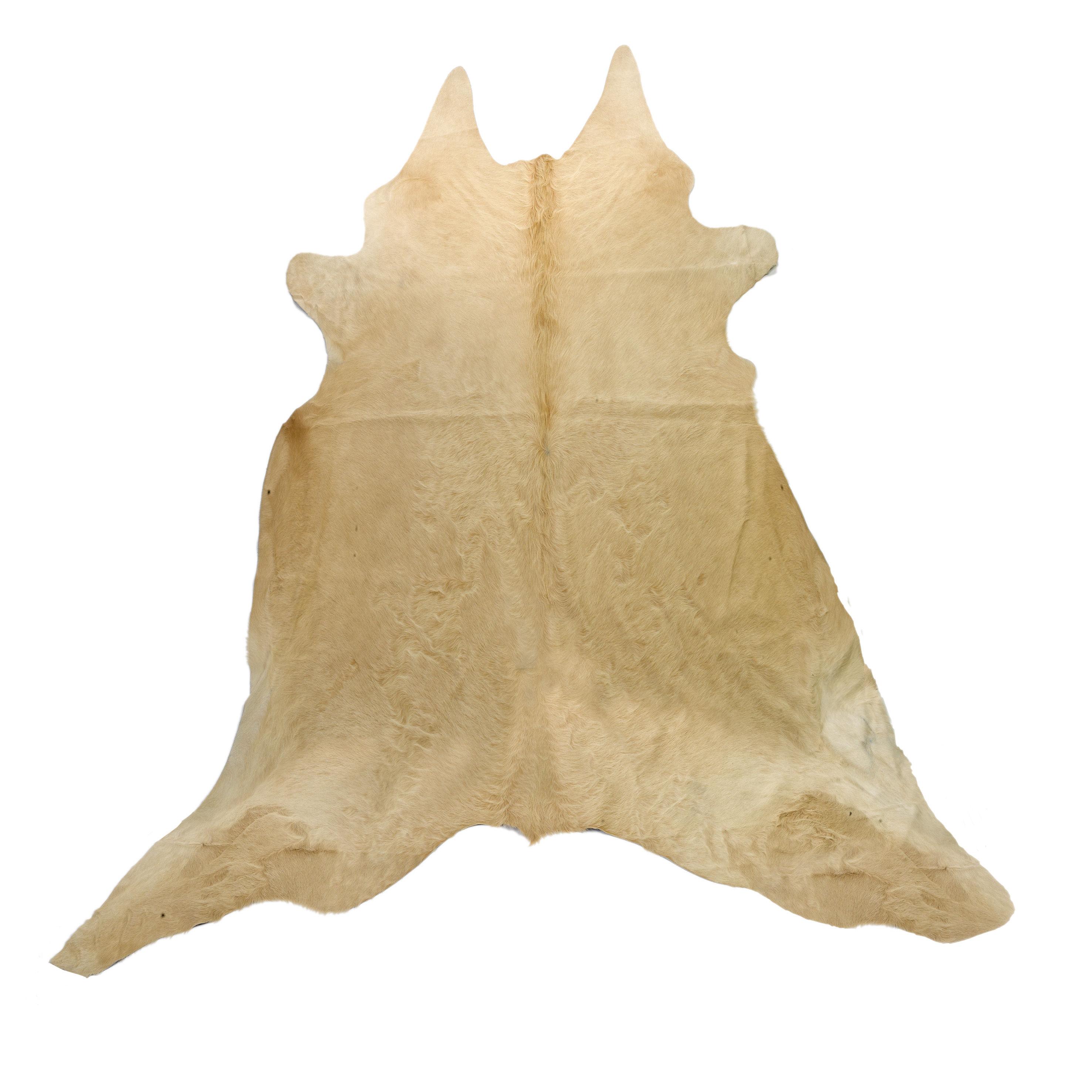 Déco - Tapis - Tapis Peau de vache véritable - 4 m2 - Pols Potten - Naturel - Peau de vache naturelle