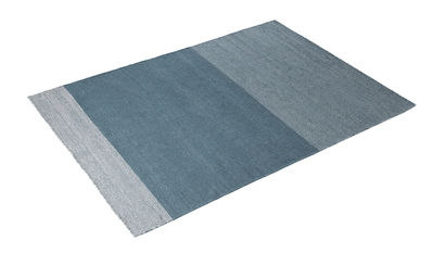 Interni - Tappeti - Tappeto Varjo / 170 x 240 cm - Muuto - Blu - Lana vergine