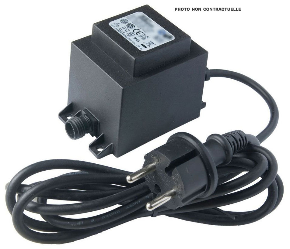 Luminaire - Appliques - Transformateur / Pour composition de 1 à 3 appliques Neon Art - Seletti - Pour composition de 1 à 3 appliques - Plastique