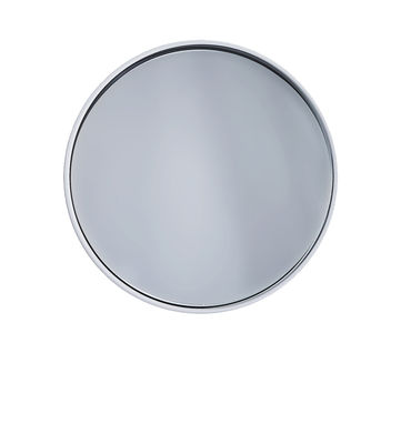 Decoration - Mirrors - Dash Wall mirror - / Ø 14,5 x Prof 6 cm by Thelermont Hupton - Blanc - Lacquered aluminium, Mirror