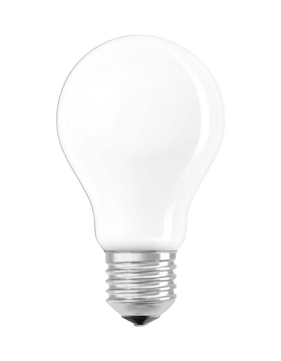 Luminaire - Ampoules et accessoires - Ampoule LED E27 dimmable / Standard dépolie - 8,5W=75W (2700K, blanc chaud) - Osram - 8,5W=75W - Verre