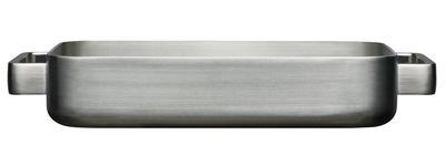 Tischkultur - Platten - Tools Auflaufform - Iittala - Stahl - rostfreier Stahl