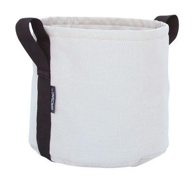 Outdoor - Töpfe und Pflanzen - Batyline® Blumentopf / Outdoor-Version - 10 l - Bacsac - Beige-grau - Toile Batyline®