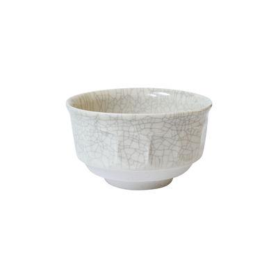 Arts de la table - Saladiers, coupes et bols - Bol Dashi / Ø 14 x H 8 cm - Grès fait main - Jars Céramistes - Quartz craquelé - Grès émaillé