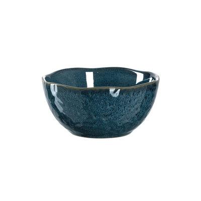 Arts de la table - Saladiers, coupes et bols - Bol Matera / Grès - Ø 12 cm - Leonardo - Bleu - Grès émaillé