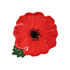 Coquelicot Bowl - / 21 x 18 x 4 cm by & klevering