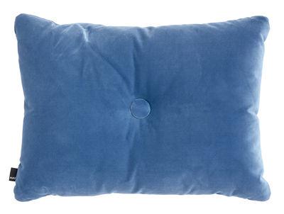 Déco - Coussins - Coussin Dot - Velours / 60 x 45 cm - Hay - Bleu - Polyester, Velours