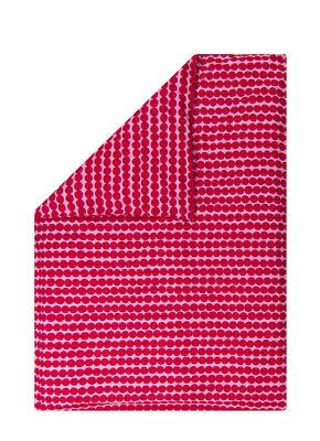 Housse de couette Räsymatto / 240 x 220 cm - Marimekko rose,rouge en tissu