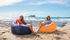 Lamzac O Inflatable armchair - / Fabric - Ø 103 cm by Fatboy
