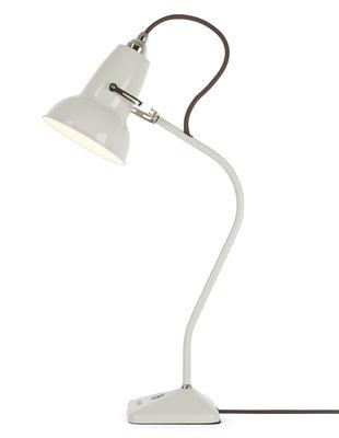 Image of Lampada da tavolo Original 1227 Mini / Braccio fisso - H 52 cm - Anglepoise - Bianco lino - Metallo