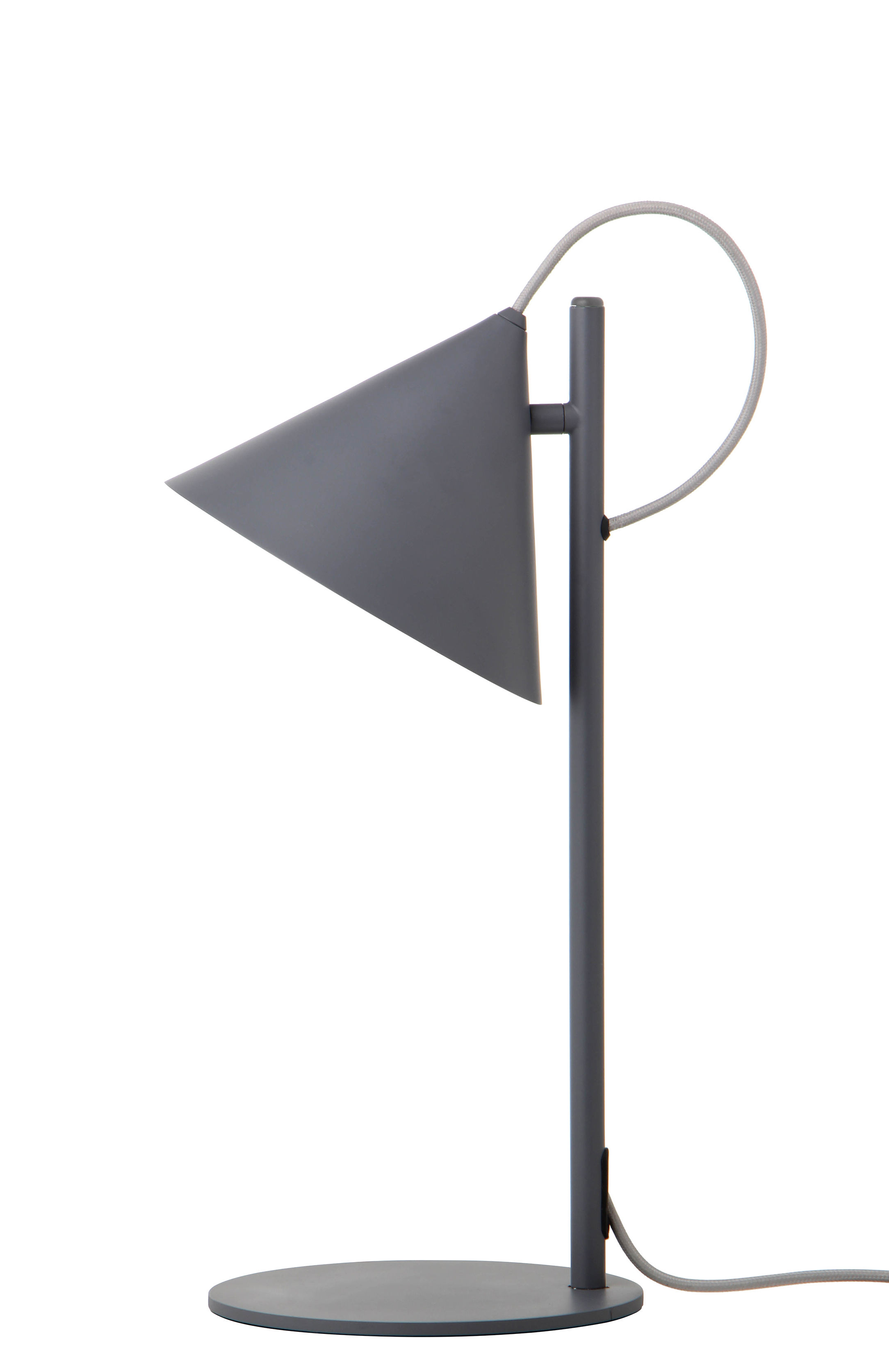 Luminaire - Lampes de table - Lampe de table Benjamin - Frandsen - Gris mat - Métal peint