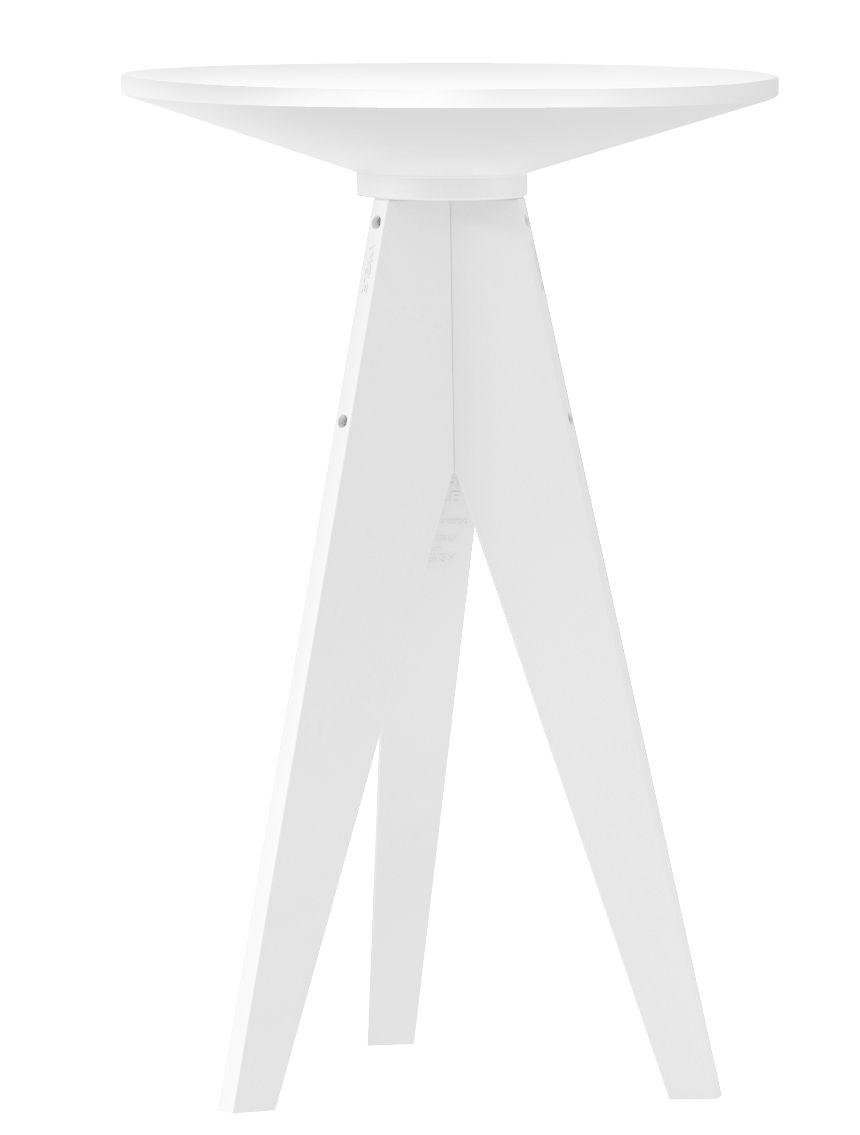Mobilier - Mange-debout et bars - Mange-debout Oxford / Ø 70 cm - Plastique - MyYour - Blanc - HPL, Plastique Poleasy ®