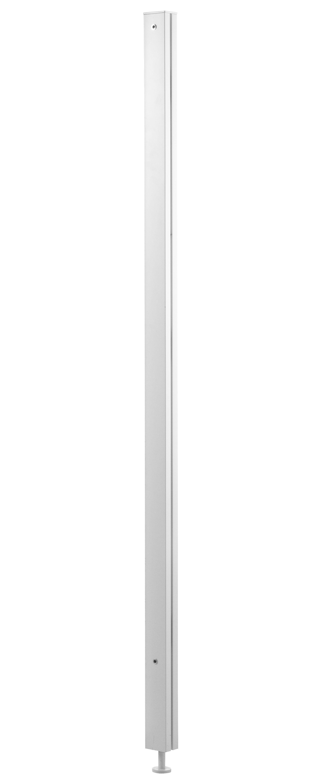 Arredamento - Raccoglitori - Piede String Works - regolabile / Per mobiletto di String Furniture - Bianco - Acciaio laccato