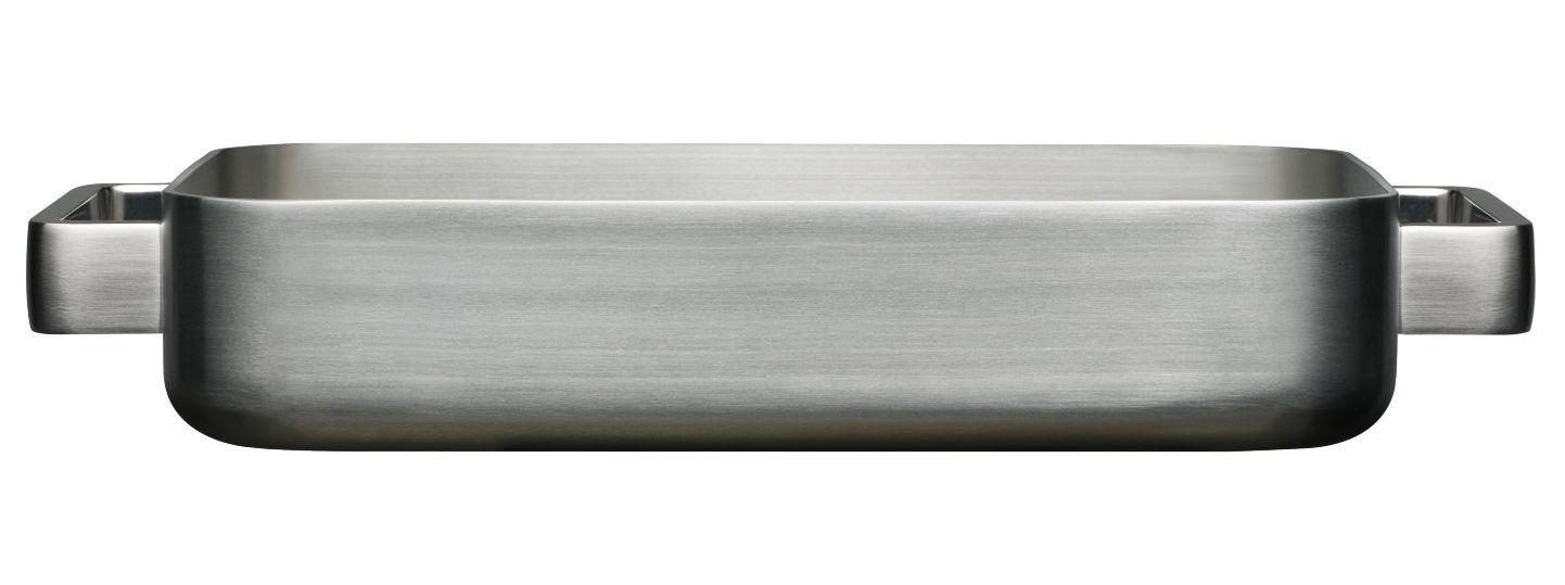 Arts de la table - Plats - Plat à gratin Tools - Iittala - Acier - Acier inoxydable