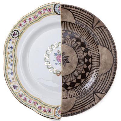 Tableware - Plates - Hybrid Hobyo Plate - / Ø 27.5 cm by Seletti - Hobyo - China