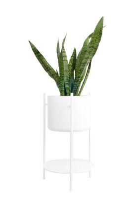 Pot de fleurs Ent Small / H 56 cm - Métal - XL Boom blanc en métal