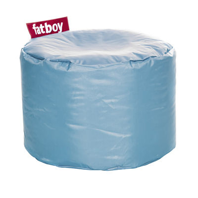 Furniture - Kids Furniture - Point Pouf by Fatboy - Ice blue - Fabric