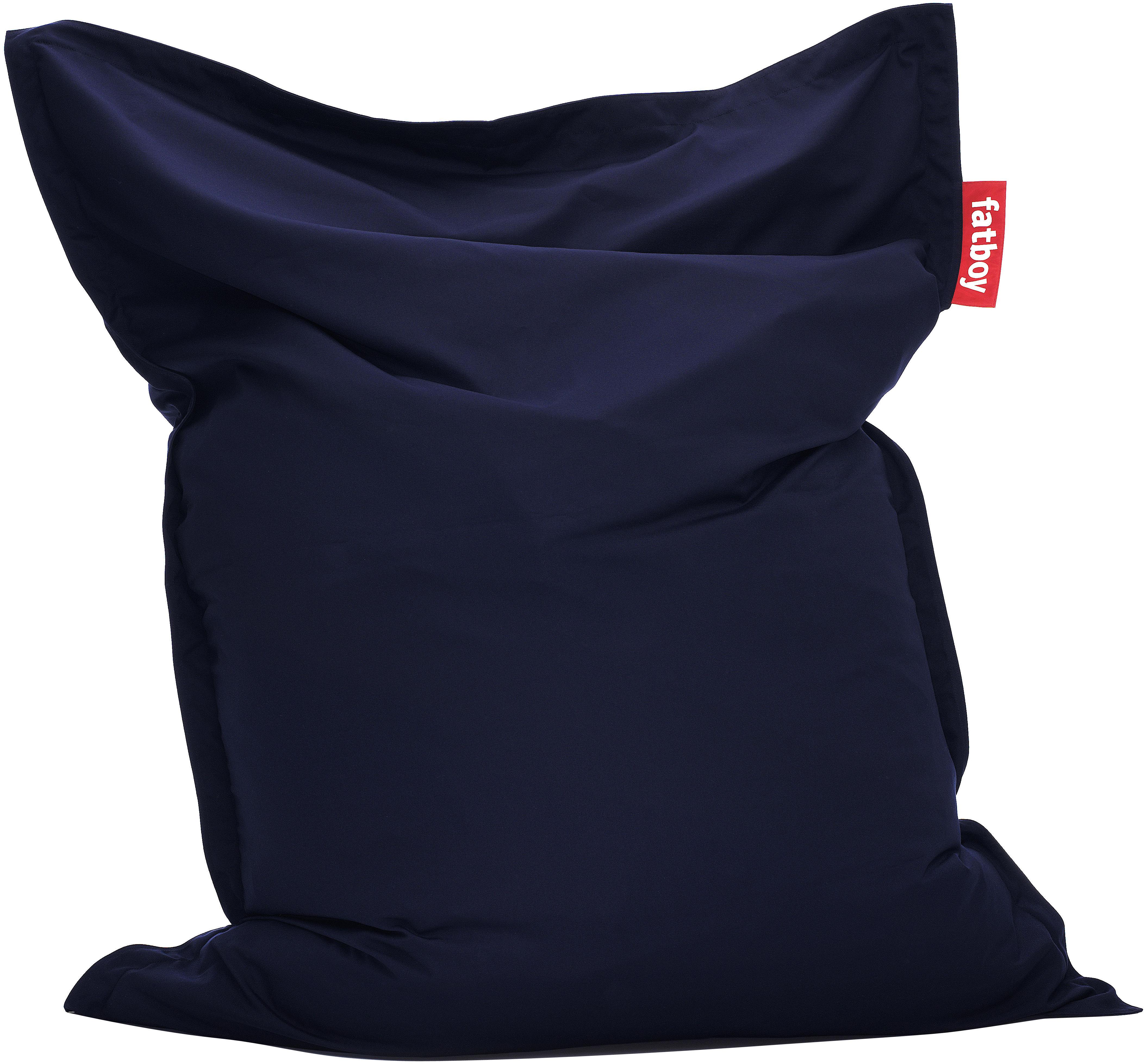 Mobilier - Mobilier Ados - Pouf The Original Outdoor / Pour l'extérieur - Fatboy - Bleu marine - Microbilles de polystyrène, Toile acrylique