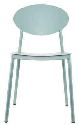 Arredamento - Sedie  - Sedia Walker - / Metallo - Per ambienti interni ed esterni di House Doctor - Cachi - Alluminio laccato