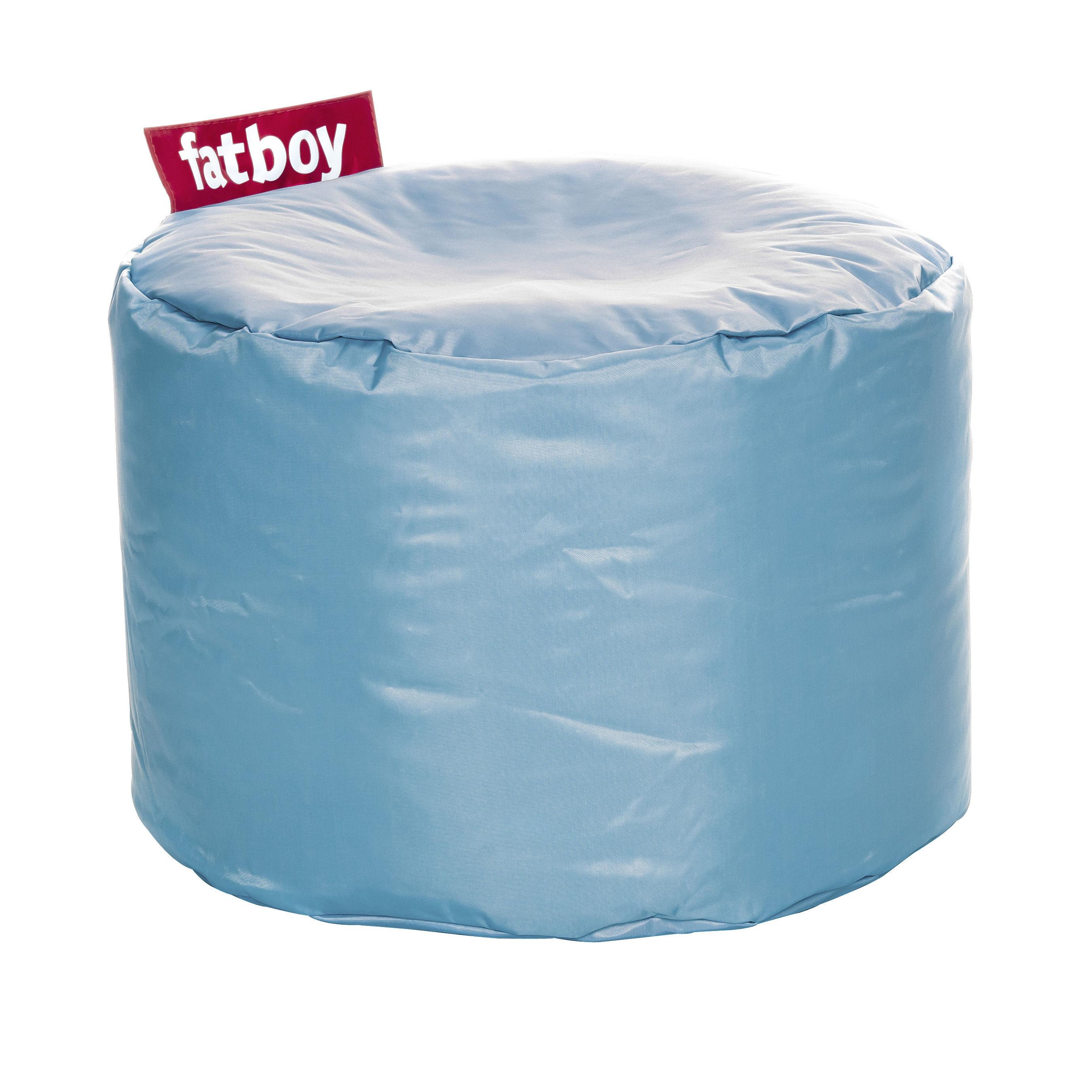 Möbel - Möbel für Kinder - Point Sitzkissen - Fatboy - Eisblau - Gewebe