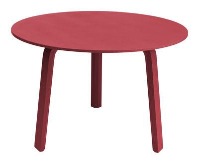 Mobilier - Tables basses - Table basse Bella / Ø 60 x H 39 cm - Hay - Corail - Chêne massif teinté
