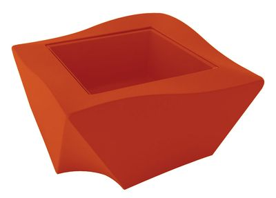 Table basse Kami Ni - Slide orange en verre