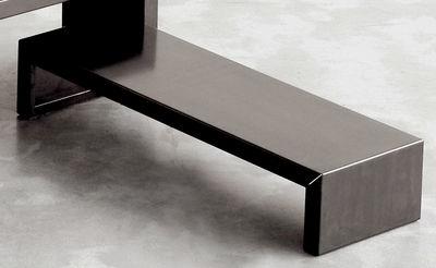 Table basse Small Irony - Zeus noir en métal
