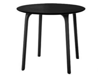 Table First / Ø 80 - Pour l´intérieur - Magis noir en matière plastique