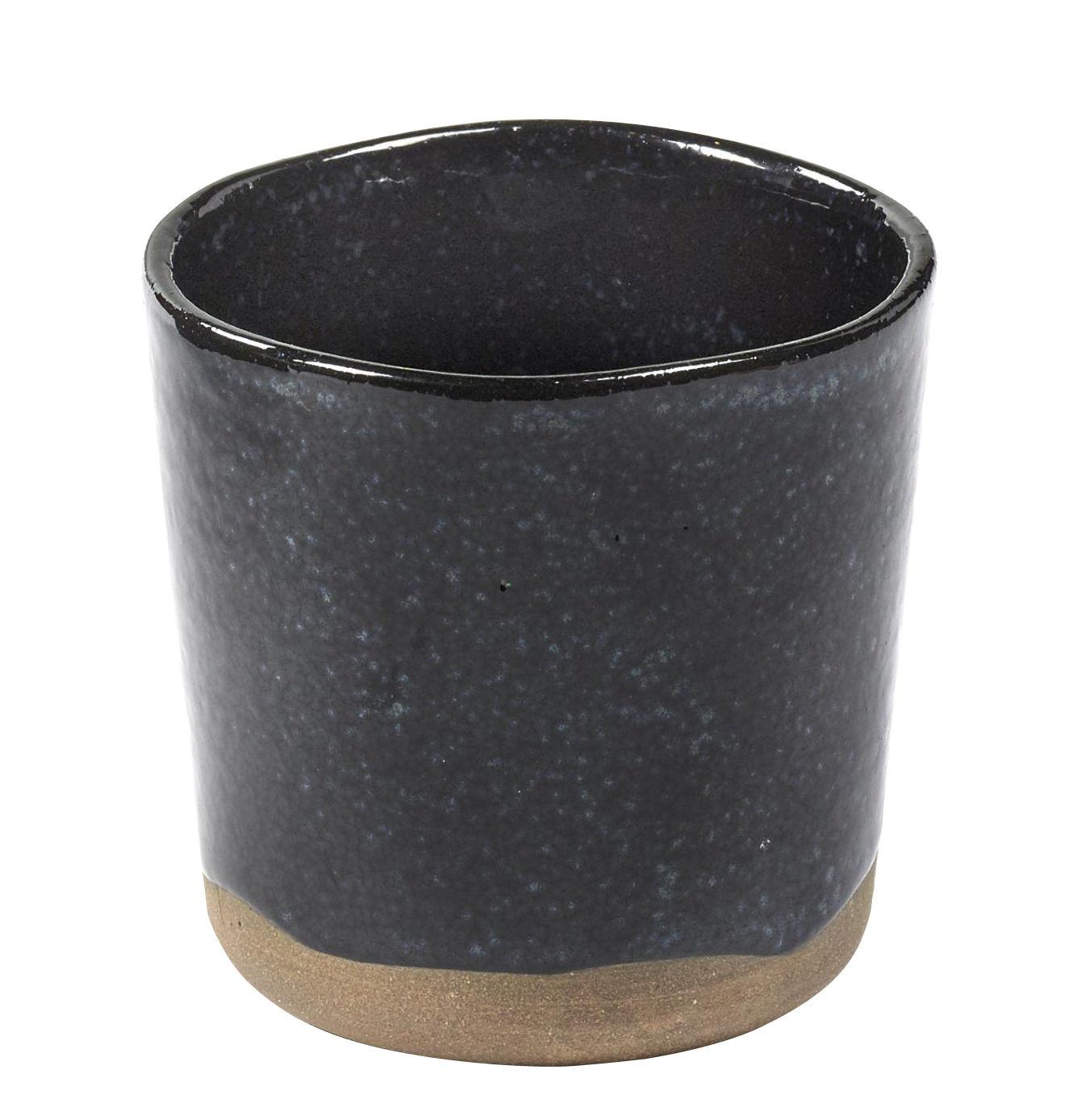 Arts de la table - Tasses et mugs - Tasse La Nouvelle Table n°9 / Grès - Fait main - Serax - Bleu foncé - Grès émaillé